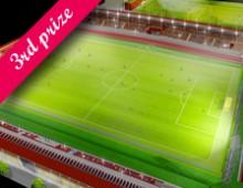 Progetto per il nuovo stadio Filadelfia di Torino | terzo classificato